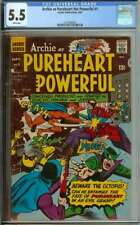 ARCHIE AS CAPTAIN PUREHEART #1 CGC 5.5 WHITE PAGES