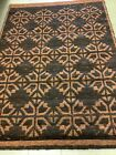 """Multicolor Scandinavian High Pile Rya Rug by Tabergs, Sweden 1970s 92"""" X 65"""""""