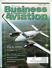 Business & Commercial Aviation Magazine July 2010 EX w/ML FAA Library 102016jhe