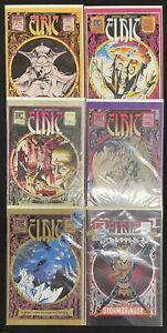 Michael Moorcock's Elric #1-6 1983 Complete Lot Run Set Thomas Pacific Comics