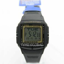 Casio Db-36-9a Db36 Alarms Stopwatch Dual Time Telememo 30 Mans Kids Resin Watch