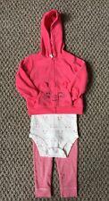 NWOT Carter's Baby Girl's 3pcs Set - Leggings, Bodysuit & Jacket Size: 18 Months