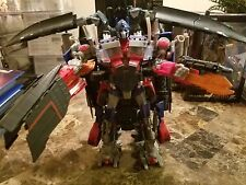 TRANSFORMERS REVENGE OF THE FALLEN LEADER CLASS OPTIMUS PRIME & JETFIRE COMPLETE