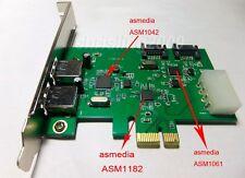 PCI-E Express 2SATA SATA3.0 SATA III  2Ports USB3.0 combo Converters