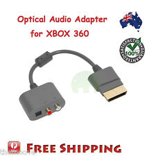 NEW Optical Audio Adapter Generic RCA AV Cable Cord For XBOX 360 AU