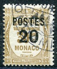 TIMBRE  MONACO N° 143  TAXE SURCHARGES