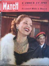 PARIS MATCH N° 0012 MARIA MONTEZ CHEZ MAXIM'S ITALIE CAPRI COMBAT COQ 1949