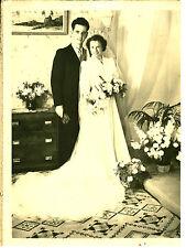 Photo ancienne mariage en noir et Blanc  No 3