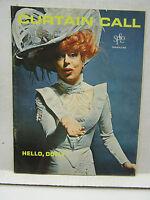 1965 SFCLO Curtain Call Theatre Program Magazine Vol 1 #4- Hello, Dolly! (L8555)