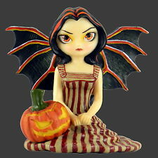 Large *HALLOWEEN TWILIGHT* Goth Fairy Figurine By Jasmine Becket-Griffith [12cm]