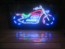 "Deluxe Chopper Flashing Led Sign~18 7/8"" X 9 3/4"" X 1 1/8"" ~Never Displayed!"