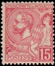 """MONACO N° 15 """"ALBERT 1er  15 C ROSE"""" NEUF XX TTB"""