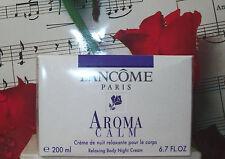 Aroma Calm Relaxing Body Night Cream 6.7 fl.oz. Lancome