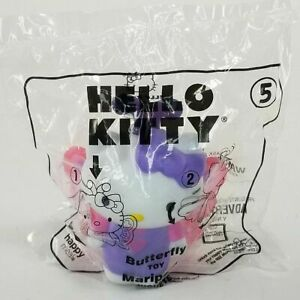 McDonald's Happy Meal 2019 Hello Kitty # 5 Butterfly Toy