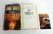Joe Hill Signed Autograph The Fireman 1st Edition/1st Print HC Book W/ Sketch