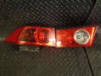 2003 HONDA ACCORD 2.0 i-VTEC Sport 4DR N/S PASSENGER SIDE REAR LIGHT CLUSTER