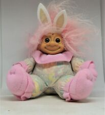 Russ Rabbit with Pj'S ears and face on cap t Soft Body Troll Doll Susie