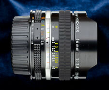 Nikon Fisheye Nikkor 16mm f2.8 manual focus lens