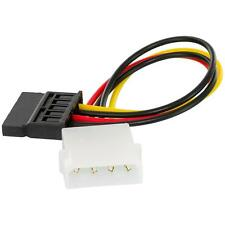 4-Pin IDE to 15-Pin Serial SATA ATA HDD Power Adapter Cable Cord Plug