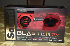 Creative Sound Blaster Zx SBX Gaming Audio Card w High Performance Headphone Amp
