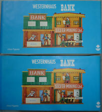 DDR _einmal 2x_Western-Bank Gebäude_unbenutzt__OVP__@W16566/V36@