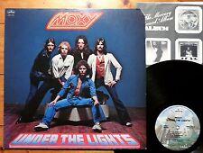 Moxy - Under the Lights - USA 1978 +OIS  Mercury SRM-1-3723 Masterdisk G.K. Kong