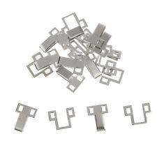 10 Stück Metall Nähhaken Augenverschlüsse Clip Verschluss Verschlüsse DIY