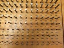 176 Pc Meyer Gage Gauge Pin Case No Go Rod Plug Hole Kit Set M 1 061 250