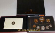2010 PROOF DOUBLE DOLLAR SET - CANADIAN 8-COIN SET - CASE, BOX & CERTIFICATE