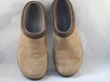 Merrell Air Cushion Brown Suede Slides/Clogs