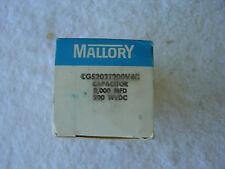 NIB MALLORY Capacitor      CGS202T200V4C