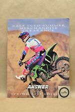 1993 Answer Racing Motorcycle Clothing Apparel Parts Accessories Catalog Book