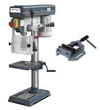 OPTIMUM Tischbohrmaschine B 16 SET Ständerbohrmaschine 230V inkl. Schraubstock