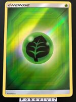 Carte Pokemon ENERGIE PLANTE Holo Reverse Soleil et Lune 11.5 SL11,5 FR NEUF