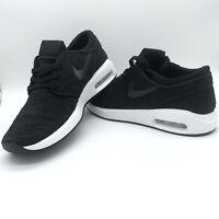 Nike SB Air Max Janoski 2 AQ7477-001 Black White Grey Men's Skateboarding Shoes