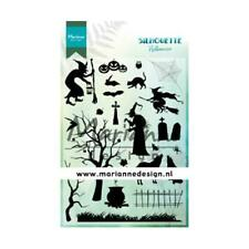 Marianne Design Silhouette Clear Stamps - Halloween CS1039