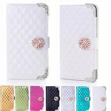 Diamante Glitter Mobile Phone Case Protective Case Flip Cover Book Style Case Pouch k916