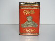 original Kakao-Dose Rüger Cacao Dresden um 1920 Rüger Hansi von Otto Rüger
