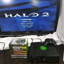 Microsoft Xbox - Original Xbox w/ 14 Games *Working*