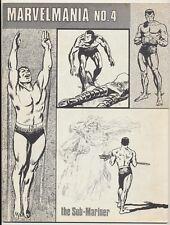 Marvelmania Monthly Magazine #4, Marvel Comics 1970, Sub-Mariner
