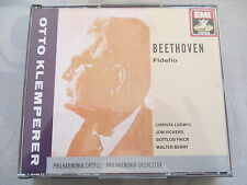Beethoven Fidelio - Klemperer Ludwig Vickers Frick - 2 CD West Germany no ifpi