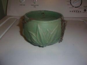 McCoy Pottery Hanging Basket