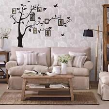 Décoration Autocollant Mural Salon Chambre Motif Arbre Photos PVC Stickers DIY