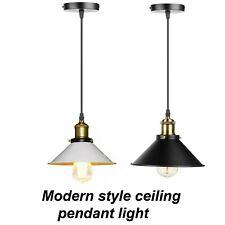 Edison Light Industrial Metal Ceiling Modern Hanging Retro Lamp Pendant Shade