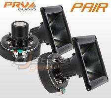 "PAIR PRV Audio DT175Ph 1"" Phenolic Compression Driver 11-25 Horn - Combo WG1-175"