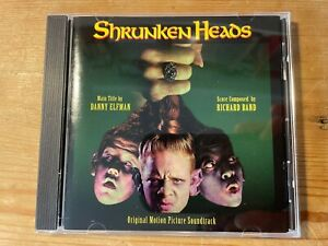 SHRUNKEN HEADS (Richard Band) OOP 1994 Moonstone Records Score Soundtrack CD NM