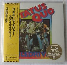 STATUS QUO - Piledriver + 1 BONUS JAPAN SHM MINI LP CD OBI NEU! UICY-75692