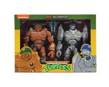 Neca tmnt target exclusive traag and granitor in-hand