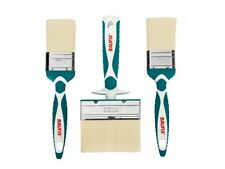 BAUFIX Professional 3x Brush Set LAQUES VERNIS PEINTURE