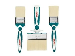 BAUFIX Professional 3x Brush Set Lacquers Varnishes Painting